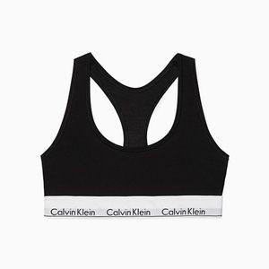 Calvin Klein Modern Cotton Bralette Black - NWOT